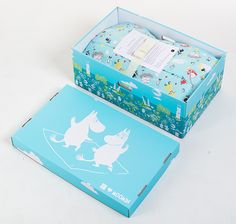 Finnish Baby Box Moomin edition. Such a cool concept and adorable as a gift no one else would be giving. Only negative is the price :/