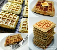 High Protein Waffles, Gluten Free, Low Carb, Sugar Free