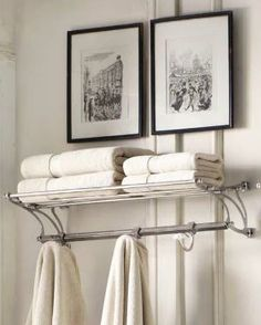 Bistro Train Rack In Bathroom, Would Work Great On 2nd Floor (main Family  Bathroom