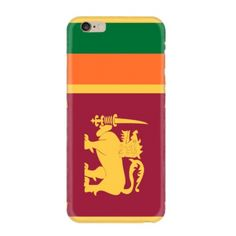 Look! My DIY : Flag of Sri Lanka iPhone case , free shipping 2016 | diythinker.com