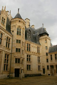 Palais Jacques-Coeur, Bourges, France - begun 1413  #Gothic architecture