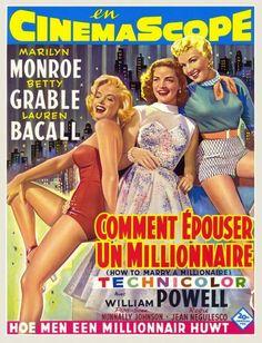 COMO CASARSE CON UN MILLONARIO (1953)