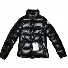 Moncler Clairy Down Black Jacket Women