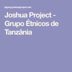 Joshua Project - Grupo Étnicos de Tanzânia