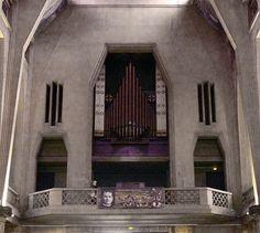 P1180178 Paris XX eglise St-Jean-Bosco orgue rwk - Église Saint-Jean-Bosco de Paris — Wikipédia
