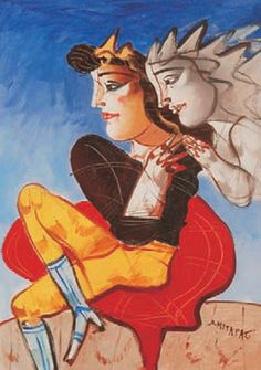 Μυταράς Δημήτρης-Θεατρικό 2 MYTARAS DIMITRIS, THEATRICAL No2 Classical Period, Classical Art, Greece Painting, Hellenistic Period, 10 Picture, Greek Art, Artist Painting, Aesthetic Art, Contemporary Paintings