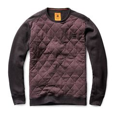 Kaiden Quilted Sweat #AW15 #comingsoon