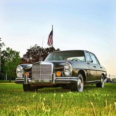 WEBSTA @ tedigramz - Ready to roll in a classic?  This 1972 W109 300SEL is ready to make you it's new owner.  Interested? Learn more in the link on my profile.