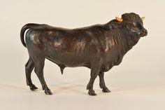 Vienna Bronze Sculpture of Bull : Lot 566