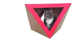 Catchitecture | Cardboard Cat Houses for Cool Cats