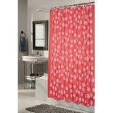 Found it at Wayfair - Vienna Polyester Fabric Shower Curtain with Flocking