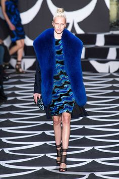 Our fave five looks from the Diane von Furstenberg show. Click for more collections!