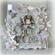 Yuri's Magnolia Blog: Noel Tilda - White Christmas at Time For Magnolia Challenge