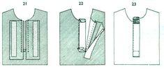как обработать планку на блузке