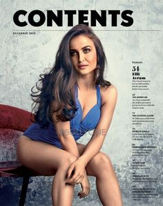 The Elegant and Demure greek-swede import Elli Avram is the new cover girl of Maxim Magazine December 2015 edition. She is a Swedish Greek actress and is n