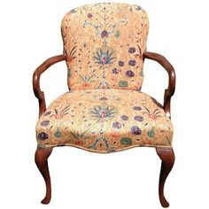 Image of Queen Anne Mahogany Chair by Hickory