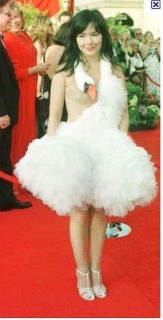 Bjork Swan Dress - spoiler alert: Gabbs Halloween Costume! Making it myself!