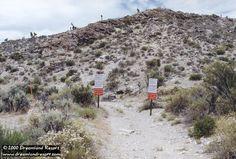 Freedom Ridge and Roadblock Canyon at Area 51 Groom Lake
