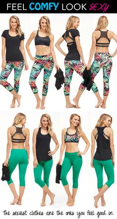 Shh! Don't tell your gym friends...You don't want everyone finding out how to look as hot as you. The secret? It's all about feeling good to look good. Baggy clothes make you look and feel lazy. Comfy form-fitting clothes show off the hard work you've put