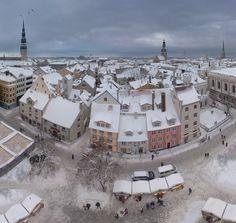 Riga's historical centre, UNESCO World Heritage Sitein Latvia.