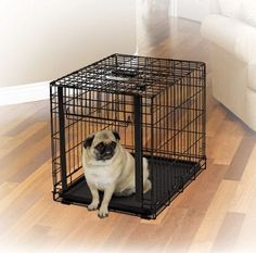 """DOG CONTAINMENT - CRATES - OVATION CRATE - 24"""" BLACK - MIDWEST METAL PRODUCTS CO., - UPC: 27773015697 - DEPT: DOG PRODUCTS"""