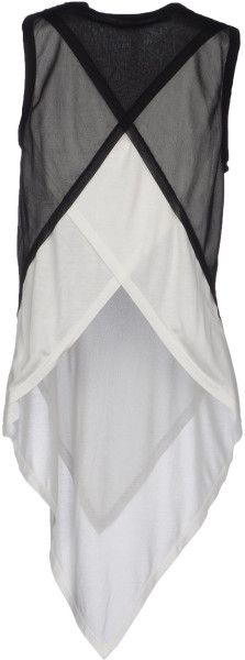 Gareth Pugh Black Sleeveless T-Shirt Japan Fashion, Look Fashion, Fashion Details, Fashion Outfits, Womens Fashion, Fashion Design, T Shirt Remake, Gareth Pugh, Blouse And Skirt
