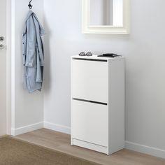 Shoe Cabinet, Shallow Cabinets, Shoe Storage Cabinet, Cabinet, Storage Cabinets, Drawer Divider, Ikea, Shop Interiors, Storage
