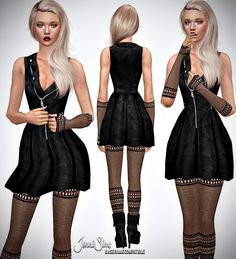 Jenni Sims: Gloves and Leggings Make A Wish • Sims 4 Downloads