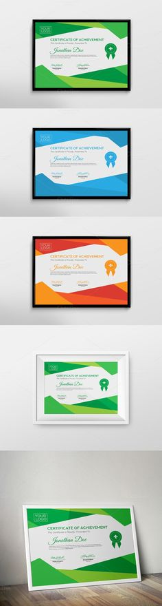 Certificate Template. Stationery Templates. $6.00