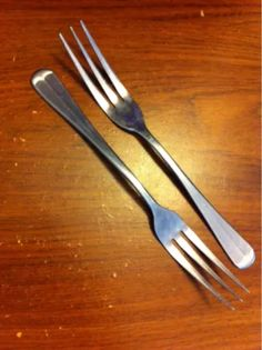 Beautiful 3 Tine fork Flatware