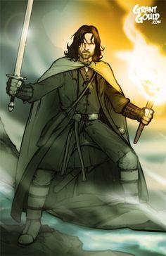 Aragorn by grantgoboom on @DeviantArt