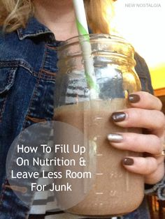 How To Fill Up With Nutrition To Leave Less Room For Junk #myaloha #alohamoment #pmedia #ad