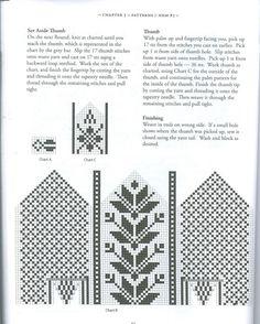 Selbuvotter - Biography of a Knitting Tradition (book) - Monika Romanoff - Picasa Web Albums Knitting Charts, Knitting Stitches, Knitting Patterns, Crochet Patterns, Knitted Mittens Pattern, Knit Mittens, Knitting Socks, Fair Isle Knitting, Filet Crochet