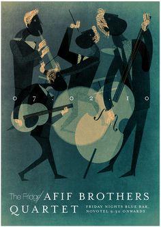 Afif Brothers Quartet @ The Fridge by Dozign