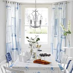 spring decoration : the light dining room
