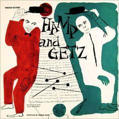 Stan Getz and Lionel Hampton, Norgran 1037, David Stone Martin