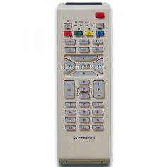 RC1683701/01 este o telecomanda cu aspect original de cea mai buna calitate folosita pentru televizoarele LED/LCD si plasma marca Philips. Nu are nevoie de coduri pentru a functiona, telecomandaRC1683701/01are nevoie doar de baterii pe care le puteti comanda impreuna cu telecomanda. Va recomandam sa folositi pentru telecomandaRC1683701/01baterii alcaline.Tele
