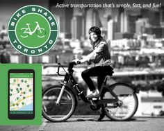 $10 for a 1-Month Membership OR $50 for a 1-Year Membership to Bike Share Toronto Thing 1, Learn A New Skill, Best Deals Online, 1 Month, 1 Year, Toronto, Transportation, Workshop, Bike