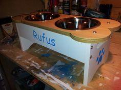 #raiseddogbowl #feedingstation #elevateddogbowls www.raiseddogbowls.co.uk