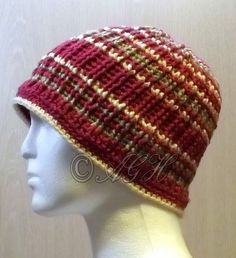 AG Handmades: 100th Pattern ~ Unisex Striped Beanie