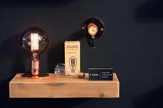 Gespot op de ShowUP-beurs: Frama E27 wandlamp en tafellamp