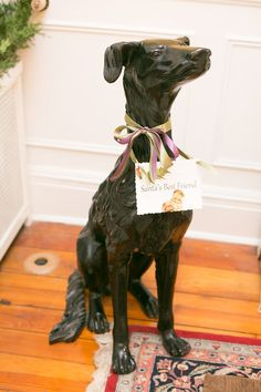 Inspiration: Even the Tyler Spite house dog gets a few ribbons and bows! Holiday Day, Christmas On A Budget, Christmas Holidays, Spite House, Easy Holiday Decorations, Dog Houses, House Dog, World Of Color, Deck The Halls