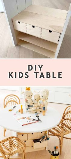 An easy DIY Kids Play Table that's customizable for any age and size and for storing all your little one's little things. #sugarandcloth #playroom #diytable #diykidstable #playtable #kidscrafttable #arttable #activitytable #learningtable #ikea #ikeahack #kidsroom #childrenstable #diyikeatable #ikeakidstable Ikea Kids Table, Kids Play Table, Kid Table, Easy Diys For Kids, Stylish Home Decor, Indian Home Decor, Find Furniture, Kids Playing, Kidsroom