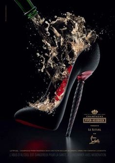 Piper Heidsieck.. Champagne celebrates with Red Soles