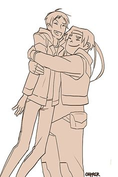 Lance and Hunk