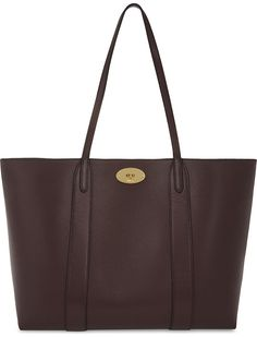 factory price b87ff 72e98 MULBERRY Bayswater small grained-leather tote