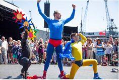 Kapow! will be strutting their stuff at The Big Splash summer 2016 www.bigsplashnewport.com