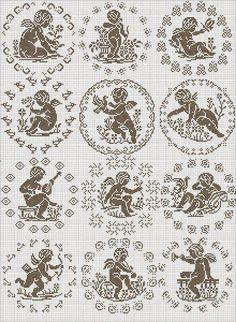 12 октября 2013 г. - Larisa K - Picasa Web Albums Filet Crochet Charts, Cross Stitch Charts, Cross Stitch Designs, Cross Stitch Patterns, Cross Stitching, Cross Stitch Embroidery, Embroidery Patterns, Hand Embroidery, Crochet Patterns