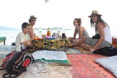 Lunch at Rawai Beach หาดราไวย์ (Rawai Beach) in เมืองภูเก็ต, ภูเก็ต Phuket, Four Square, Chill, Thailand, Lunch, Eat Lunch, Lunches