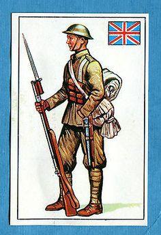 ARMI E SOLDATI - Edis 71 - Figurina-Sticker n. 320 - SOLDATO INGLESE -Rec
